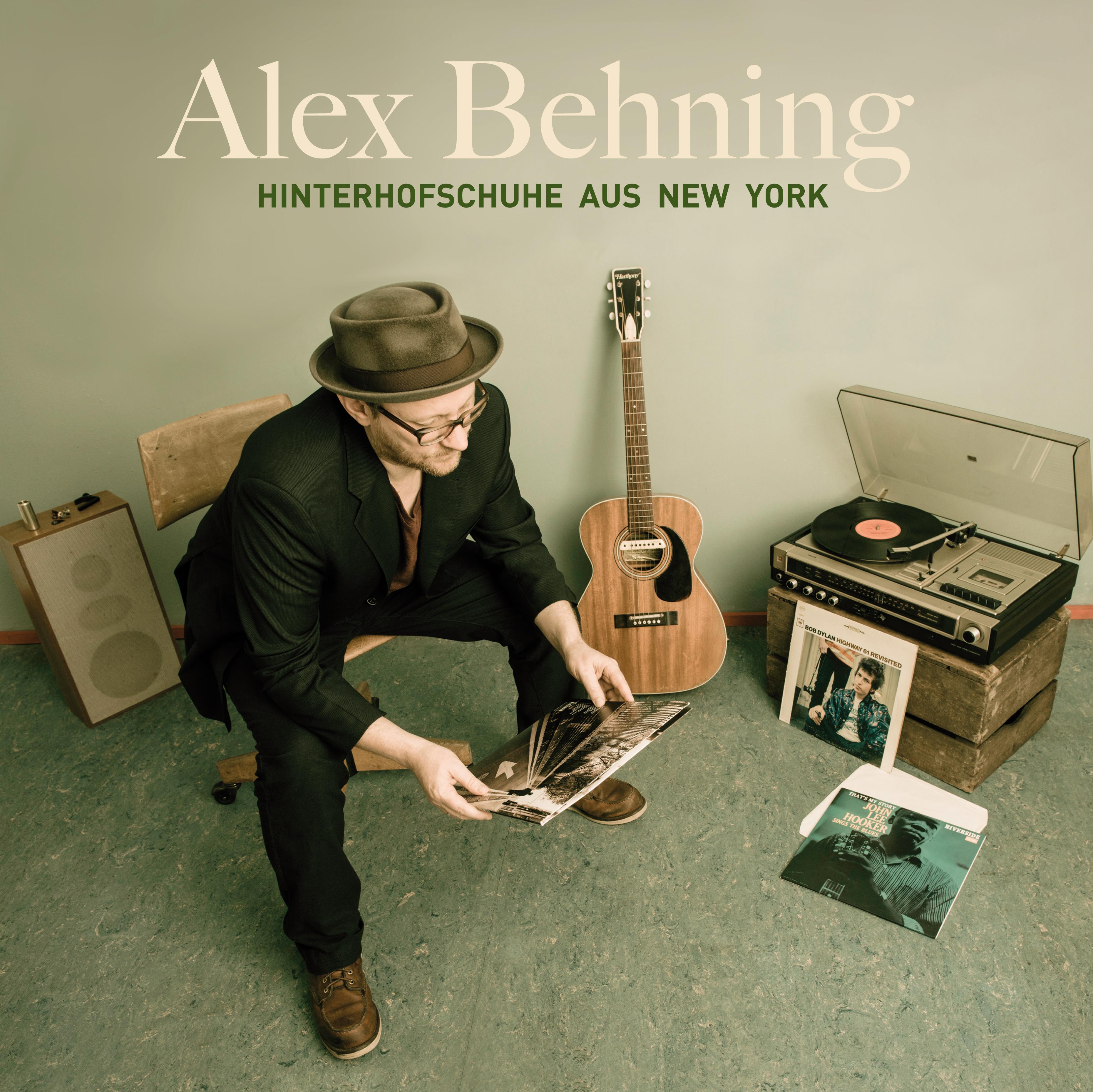 Album Cover Hinterhofschuhe aus New York